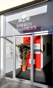 Mirren Chambers Entrance